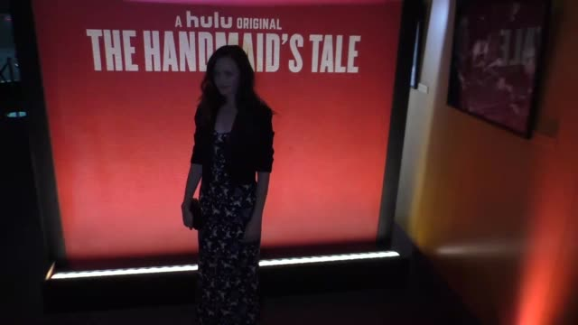 Alexis Bledel at the FYC Event For Hulu's 'The Handmaid's Tale' Arrivals on August 14 2017 in Los Angeles California