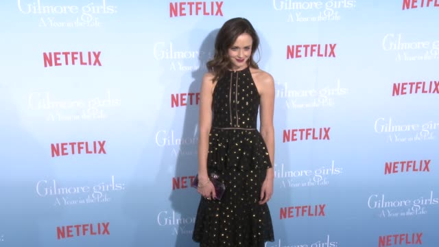 Alexis Bledel at the Premiere of Netflix's Gilmore Girls A Year In The Life at Regency Bruin Theater on November 18 2016 in Westwood California
