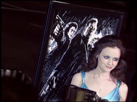 alexis bledel at the 'sin city' premiere on march 28, 2005. - alexis bledel stock videos & royalty-free footage