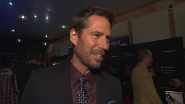 INTERVIEW Alexis Denisof on what audiences can expect going up against 'Man of Steel' at 'Much Ado About Nothing' Gala Screening at Apollo Piccadilly...