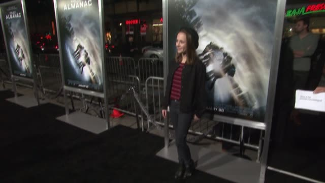 Alexis G Zall at the 'Project Almanac' Los Angeles Premiere at TCL Chinese Theatre on January 27 2015 in Hollywood California