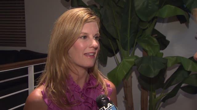 vídeos de stock e filmes b-roll de alexis terszuki of radar online discusses the jackson family feud on july 23, 2012 in los angeles, california - concurso televisivo