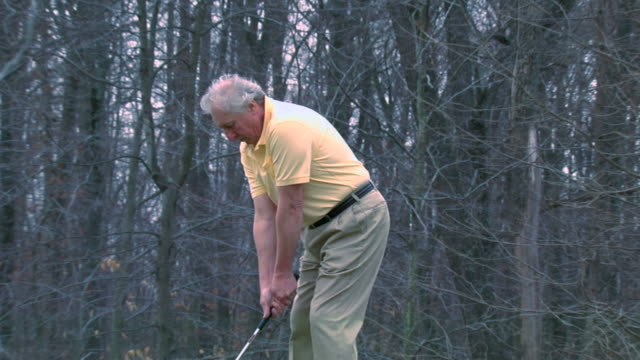 alex's golf swing - zoom - golf swing on white stock videos & royalty-free footage