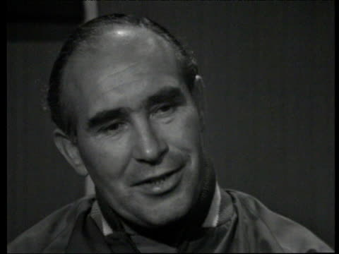 Alf Ramsey speaks about advantage of playing at Wembley following England's victory over France at 1966 World Cup England