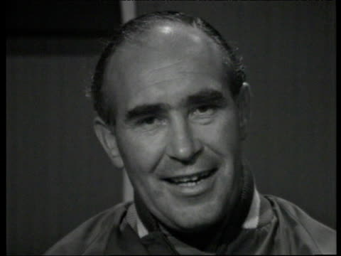 Alf Ramsey speaks about effects of pressure on himself and his England players following their win over France at 1966 World Cup England