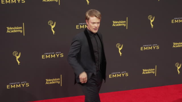 alfie allen at the 2019 creative arts emmy awards day 2 - emmy awards stock videos & royalty-free footage