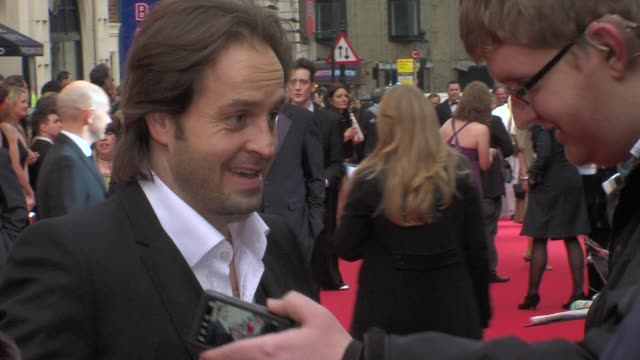 Alfie Boe at the Olivier Awards at London England