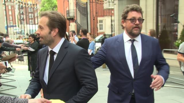 Alfie Boe Michael Ball at Grosvenor House on June 30 2017 in London England