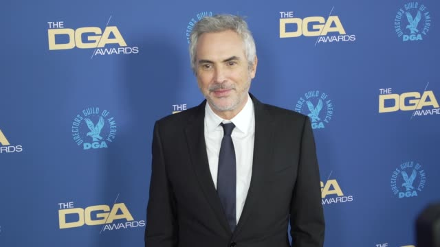 alfonso cuarón at the 71st annual dga awards at the ray dolby ballroom at hollywood highland center on february 02 2019 in hollywood california - alfonso cuaron stock videos & royalty-free footage