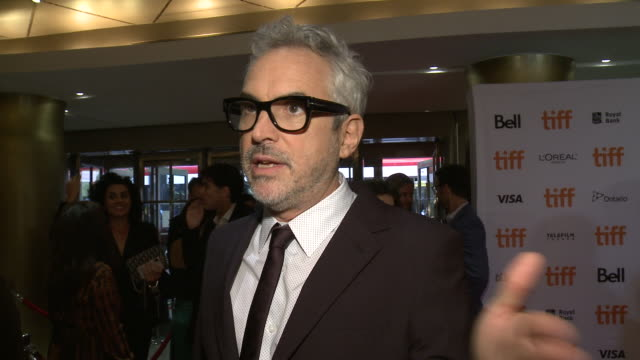 INTERVIEW Alfonso Cuarón on what he hopes the audience feels after watching the film and how he feels to have this film included in TIFF at Princess...