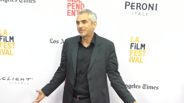Alfonso Cuaron at the 2016 Los Angeles Film Festival Desierto Premiere at ArcLight Theatre in Culver City in Celebrity Sightings in Los Angeles