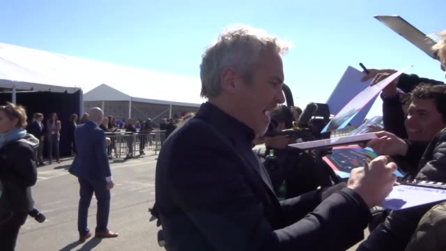 alfonso cuaron outside the film independent spirit awards at santa monica pier at celebrity sightings in los angeles on february 23, 2019 in los... - film independent spirit awards stock videos & royalty-free footage