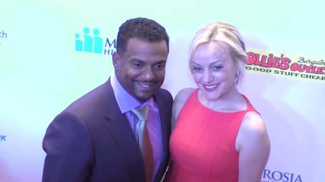 Alfonso Ribeiro and Angela Unkrich at the 16th Annual Harold And Carole Pump Foundation Gala at The Beverly Hilton in Beverly Hills at Celebrity...