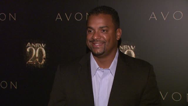 Alfonso Ribeiro at Avon ANEW 20th Birthday Event on in New York NY