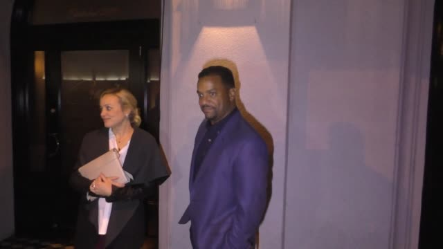 Alfonso Ribeiro joins wife Angela Unkrich for dinner at Craig's in West Hollywood in Celebrity Sightings in Los Angeles