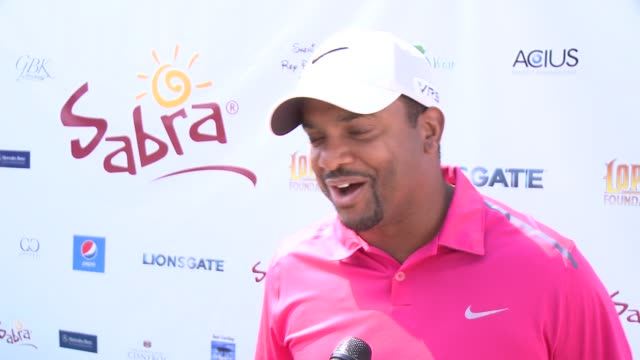 INTERVIEW Alfonso Ribeiro on being a part of the afternoon at The 7th Annual George Lopez Celebrity Golf Classic Presented By Sabra Salsa at Lakeside...