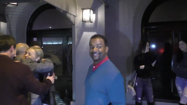 INTERVIEW Alfonso Ribeiro on the government shutdown and the Super Bowl outside Craig's in West Hollywood at Celebrity Sightings in Los Angeles on...