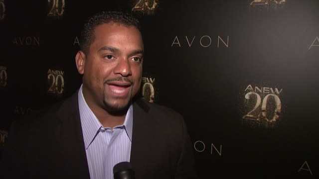 Alfonso Ribeiro on what ANEW has been doing and partying 90s style at Avon ANEW 20th Birthday Event on in New York NY