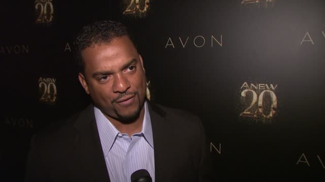 Alfonso Ribeiro on where he was in 1992 at Avon ANEW 20th Birthday Event on in New York NY