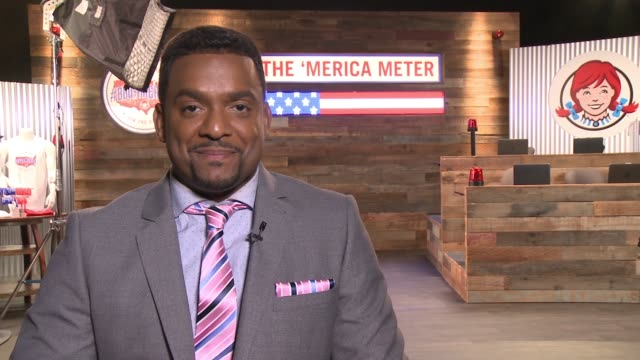 INTERVIEW Alfonso Ribeiro Partners with Wendy's and Hosts a 24Hour #BBQ4merica TweetaThon in Los Angeles on