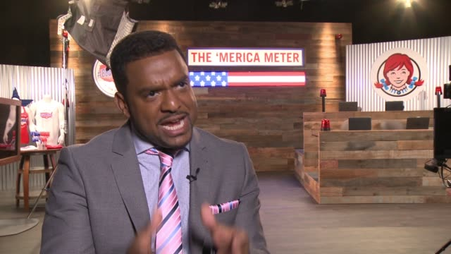 CHYRON Alfonso Ribeiro Partners With Wendy's and Hosts a 24Hour #BBQ4merica TweetaThon in Los Angeles on