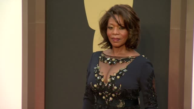 alfre woodard 86th annual academy awards arrivals at hollywood highland center on march 02 2014 in hollywood california - alfre woodard stock videos & royalty-free footage