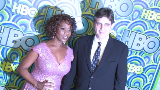 alfre woodard at hbo's post 65th primetime emmy awards reception in los angeles, ca, on 9/22/13. - アルフレ・ウッダード点の映像素材/bロール