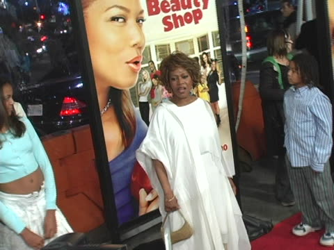 alfre woodard at the beauty shop world premiere at mann national theatre in westwood, ca. - mann national theater video stock e b–roll