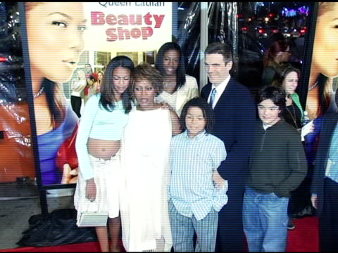 alfre woodard at the 'beauty shop' world premiere at the mann national theatre in westwood california on march 24 2005 - mann national theater stock videos and b-roll footage