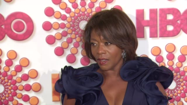 alfre woodard at the hbo's annual emmy awards post award reception at los angeles ca - alfre woodard stock videos & royalty-free footage