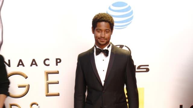Alfred Enoch at 47th Annual NAACP Image Awards at Pasadena Civic Auditorium on February 05 2016 in Pasadena California