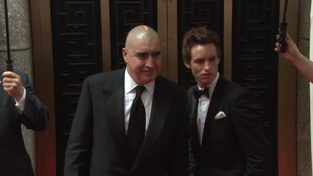 Alfred Molina and Eddie Redmayne at the 64th Annual Tony Awards at New York NY
