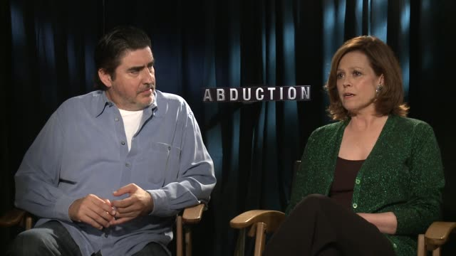 alfred molina and sigourney weaver on what it was like playing cia agents - alfred molina stock videos & royalty-free footage