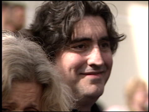 alfred molina at the dediction of doris roberts's walk of fame star at the hollywood walk of fame in hollywood, california on february 10, 2003. - doris roberts stock videos & royalty-free footage