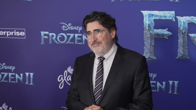 alfred molina at the frozen ii world premiere at dolby theatre on november 07 2019 in hollywood california - alfred molina stock videos & royalty-free footage