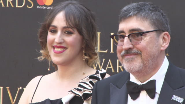 alfred molina at the olivier awards with mastercard at royal albert hall on april 08 2018 in london england - alfred molina stock videos & royalty-free footage