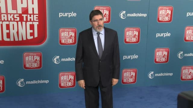 """alfred molina at the """"ralph breaks the internet"""" world premiere at the el capitan theatre on november 05, 2018 in hollywood, california. - el capitan theatre stock videos & royalty-free footage"""