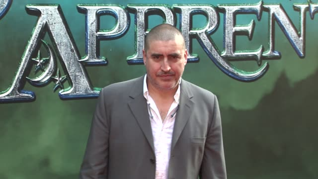 alfred molina at the 'the sorcerer's apprentice' new york premiere arrivals at new york ny - alfred molina stock videos & royalty-free footage