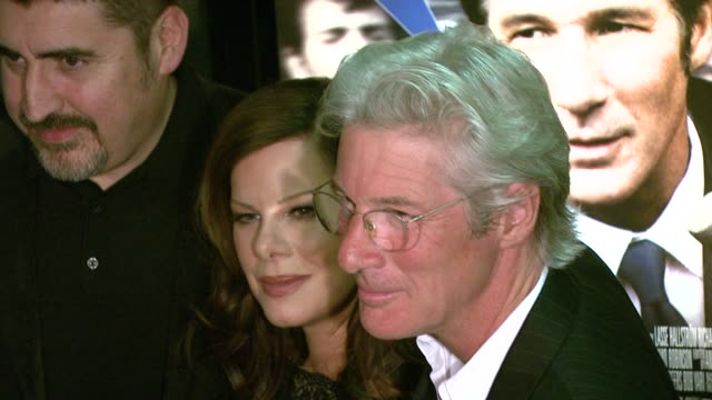 alfred molina marcia marcia gay harden and richard gere at the 'the hoax' new york premiere at cinema 1 3 in new york new york on april 1 2007 - alfred molina stock videos & royalty-free footage