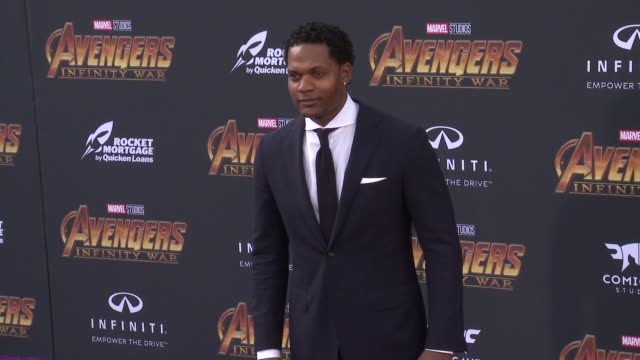 Algenis Perez Soto at the Avengers Infinity War World Premiere on April 23 2018 in Hollywood California