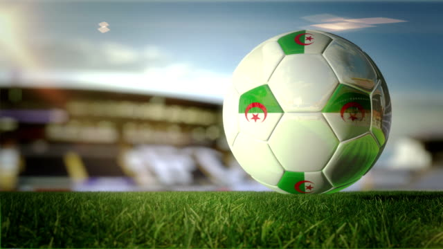 Algerian Ball Turn At Stadium - Loopable
