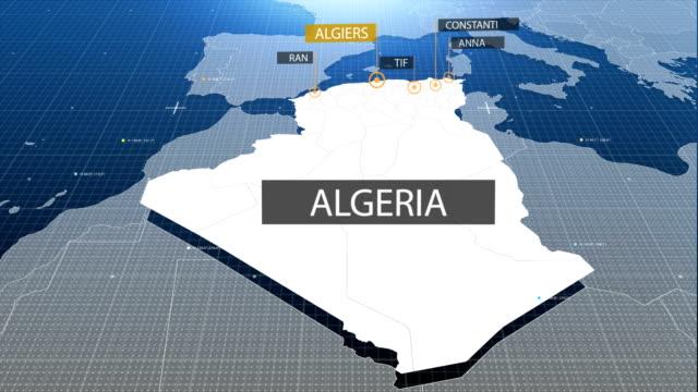 Algerian map