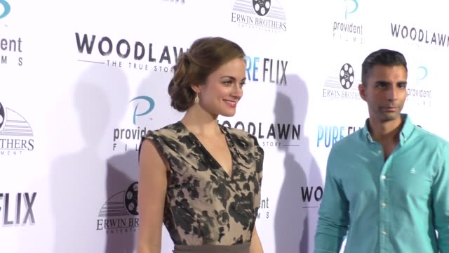 Ali Faulkner at the Woodlawn Premiere at Bruin Theatre on October 05 2015 in Los Angeles California