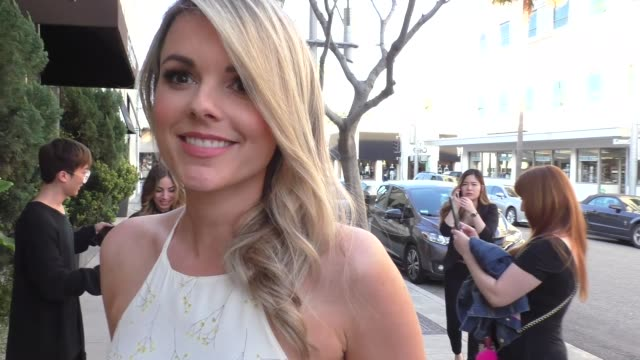 INTERVIEW Ali Fedotowsky talks about the new Bachelorette at Brighton Salon in Beverly Hills in Celebrity Sightings in Los Angeles