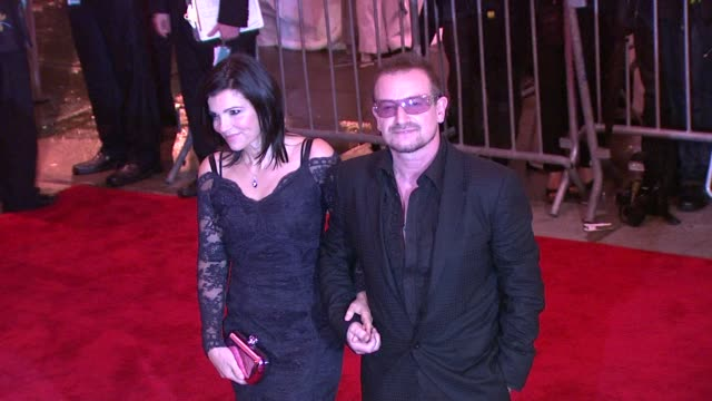 Ali Hewson and Bono at the 'The Model as Muse Embodying Fashion' Costume Institute Gala at The Metropolitan Museum of Art Arrivals at New York NY