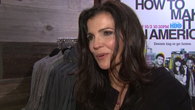Ali Hewson on being at the event and waht means to have her line at Bloomingdale's at the Bloomingdale's Celebrates Fashion Night Out 2011 at New...