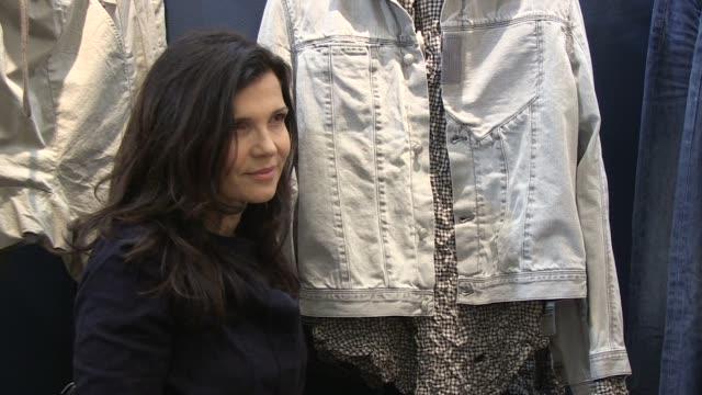 Ali Hewson shows her new range of EDUN clothing EDUN Clothing Ali Hewson at Selfridges on February 26 2011 in London England