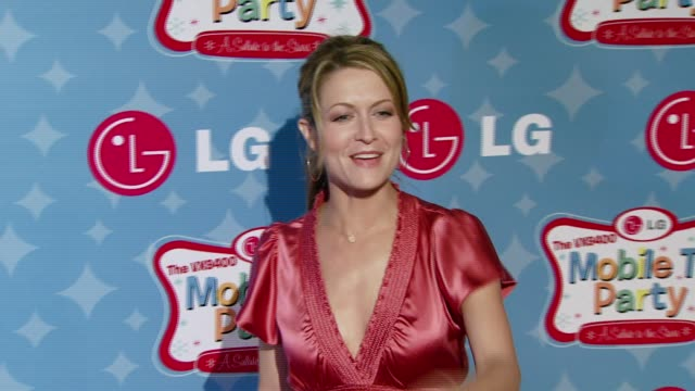 Ali Hillis at the LG Mobile Phones Introduces the Future of TV at LG's Mobile TV Party at Paramount Studios in Hollywood California on June 19 2007