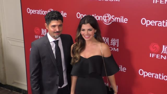 Ali Landry and Alejandro Gomez Monteverde at Operation Smile's Los Angeles Smile Gala at the Beverly Wilshire Beverly Hills at Celebrity Sightings in...