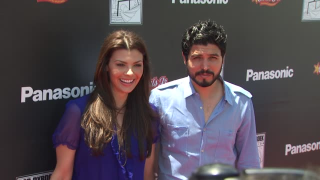 Ali Landry and Alejandro Gomez Monteverde at the Rob Dyrdek Foundation SK8 4 Life Benefit Presented By Panasonic Carl's Jr at Los Angeles CA